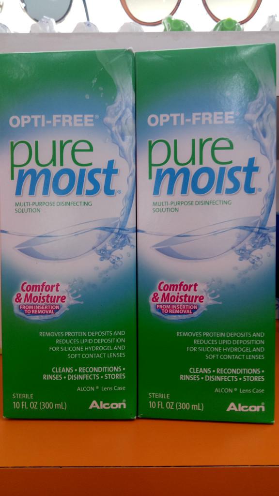 harga Optifree pure moist solution by alcon Tokopedia.com