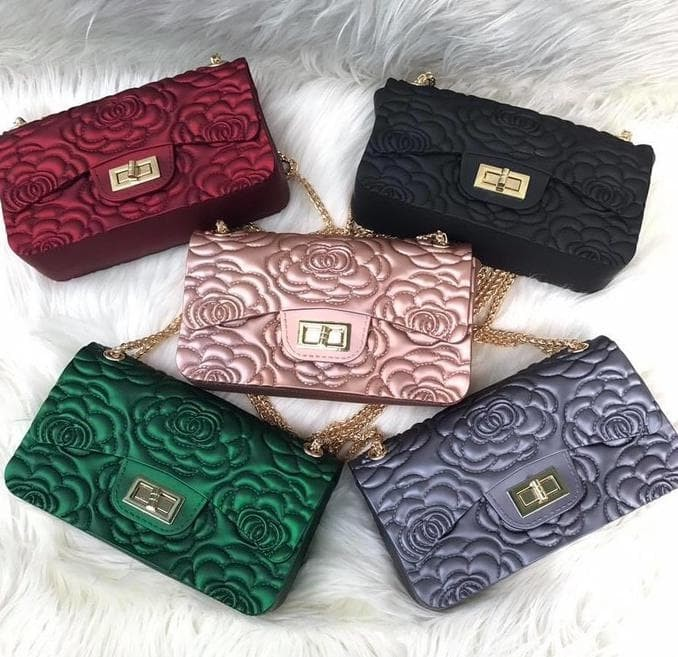 Jual Tas Wanita Chanel Flower Mini Jelly Matte Import 18cm - Serasi ... ac2dcbbf19