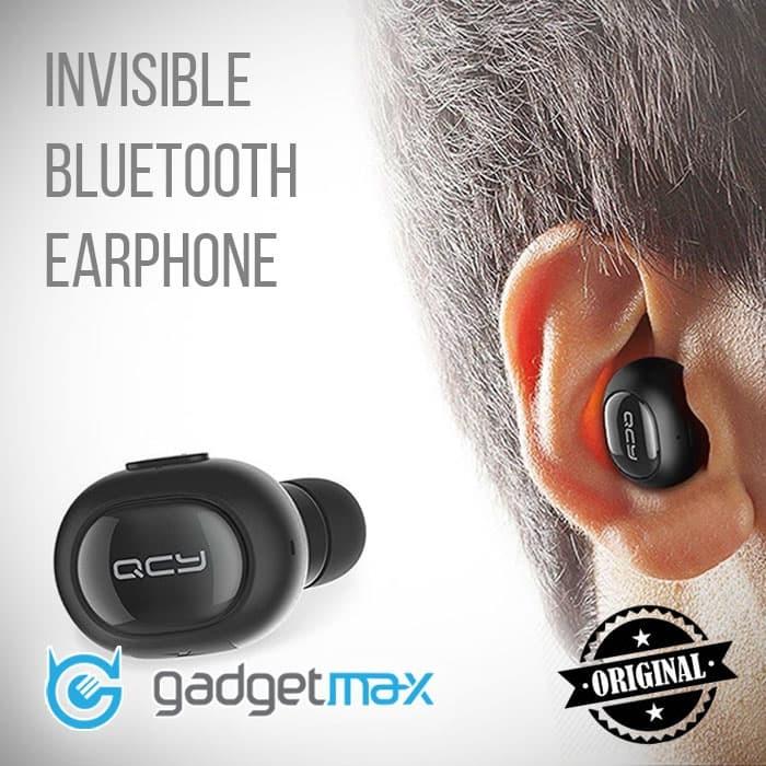 Foto Produk Qcy Bluetooth Headset Single Q26 Original (Cek Harga sedang Promo) - Kuning dari Gadgetmax.net