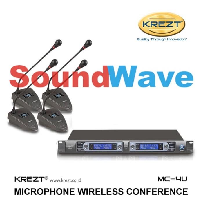 harga Krezt mc-4u mic conference wireless/microphone podium/mik rapat mc4u Tokopedia.com