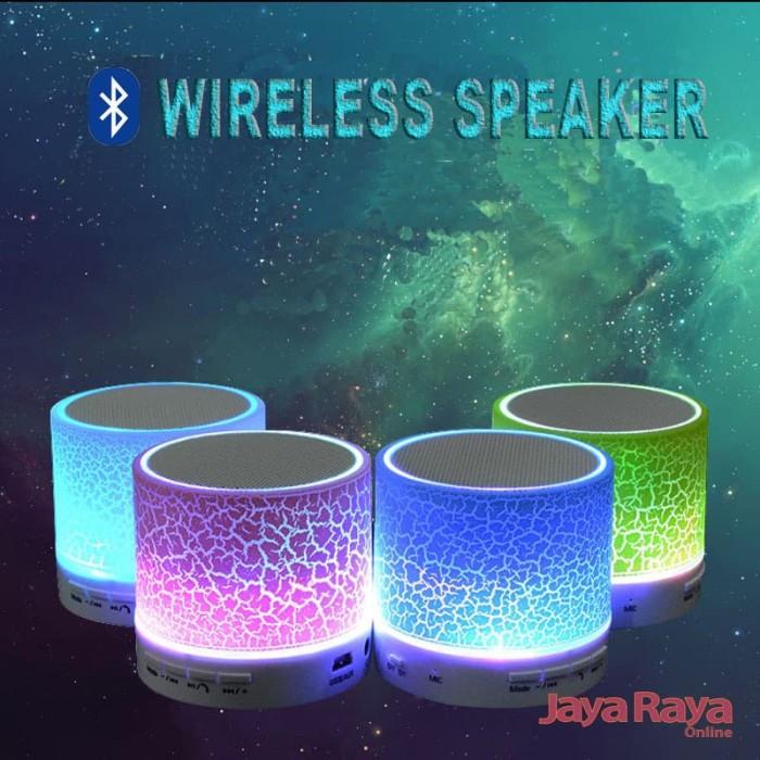 harga Speaker bluetooth led s10 music box model kaca retak warna warni crack Tokopedia.com