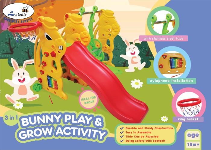 harga Perosotan anak l'abielle bunny play & grow kc-1008 sl Tokopedia.com