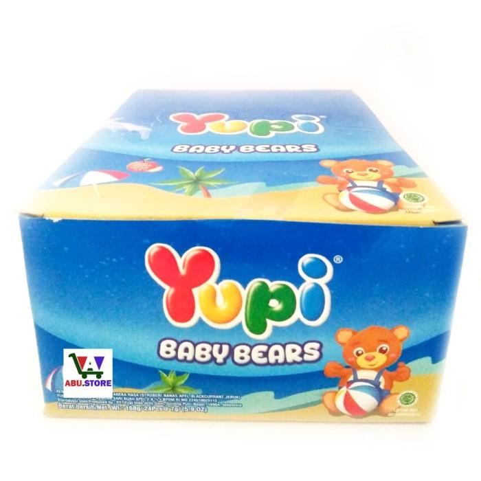 Permen Yupi Box Rasa Baby Bears - Aneka Rasa Lucu dan Imut