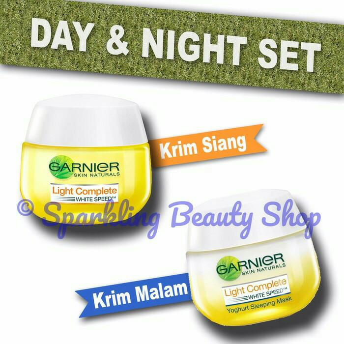 Garnier Cream Siang dan Malam