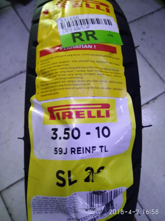 harga Ban pirelli sl26 vespa px150 uk 3.50 Tokopedia.com