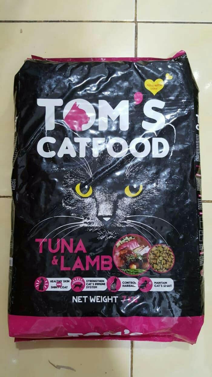 Jual Toms Cat Food Tuna Lamb 7kg Makanan Kering Kucing Whiskas Dry 480gr Rasa