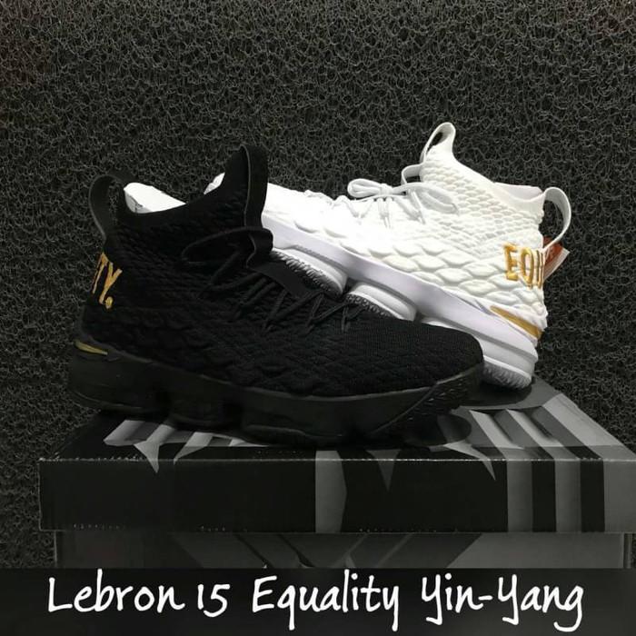 new concept 4c3d4 6dd32 Jual sepatu basket nike lebron 15 equality yin yang - Kota Batam ...