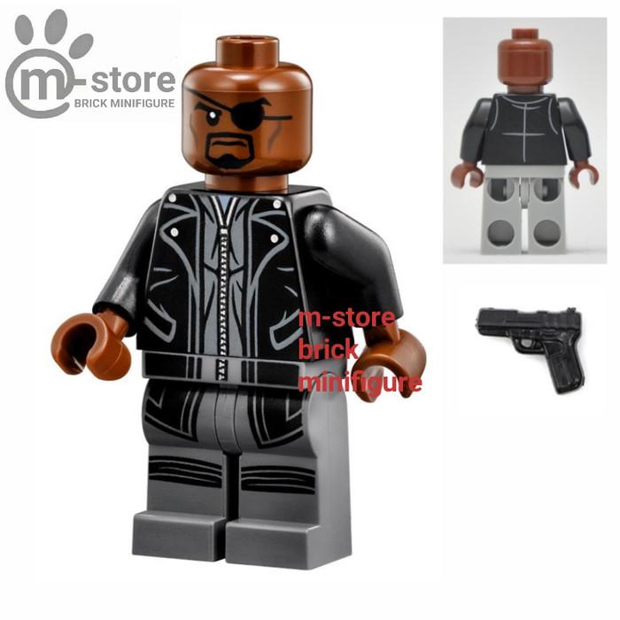 harga Lego avengers nick fury minifigure Tokopedia.com