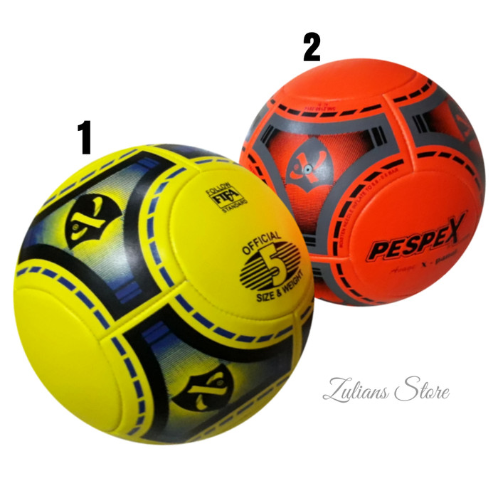 harga Bola sepak pespex size 5 standar fifa kualitas internasional Tokopedia.com