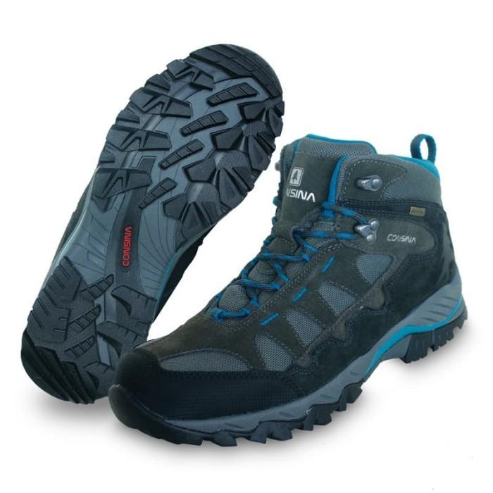 Jual Sepatu Gunung Consina Pokhara Sepatu Trekking Consina Sepatu ... 390ce809a5