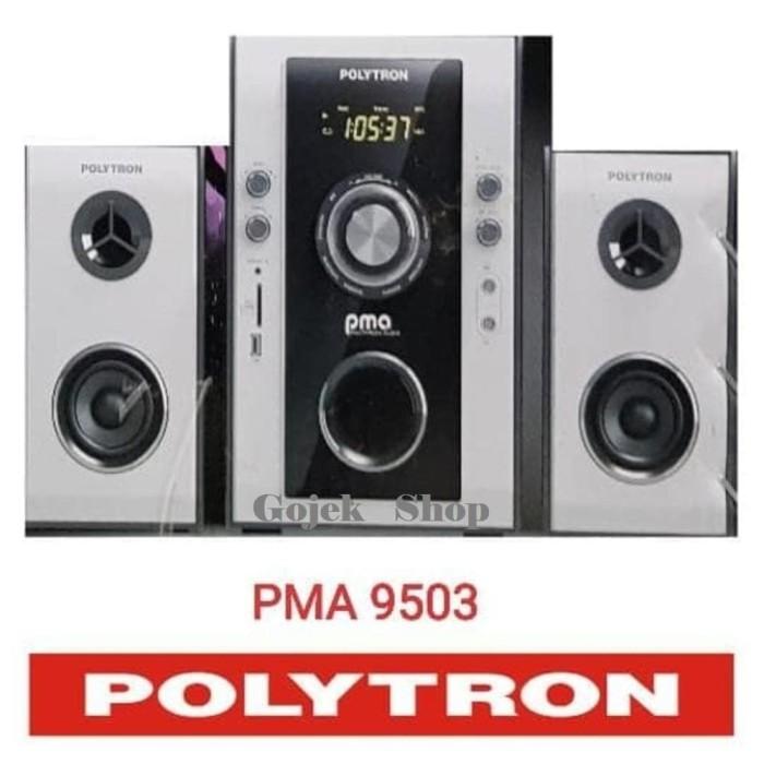harga Speaker aktif  polytron pma 9503 bluetooth + radio+ remot + karaoke Tokopedia.com