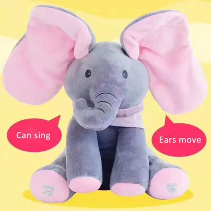 Foto Produk Boneka Gajah Peek A Boo dari Dopayu Gifts&Toys