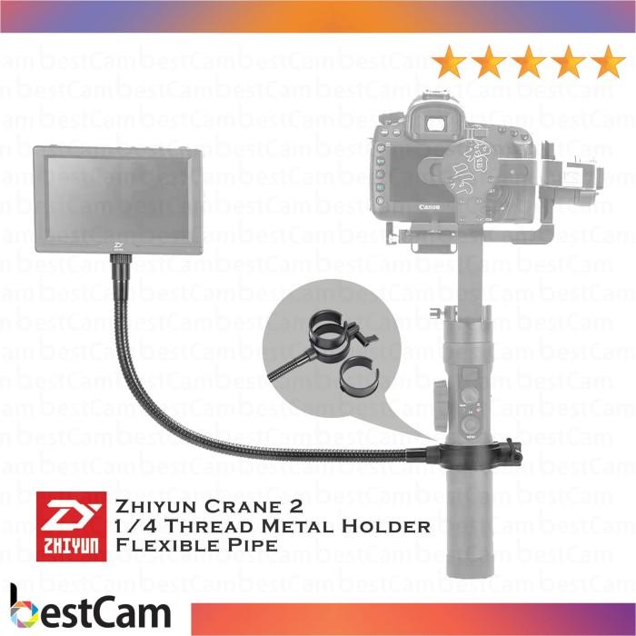 harga Zhiyun 1/4 thread metal holder with flexible pipe Tokopedia.com