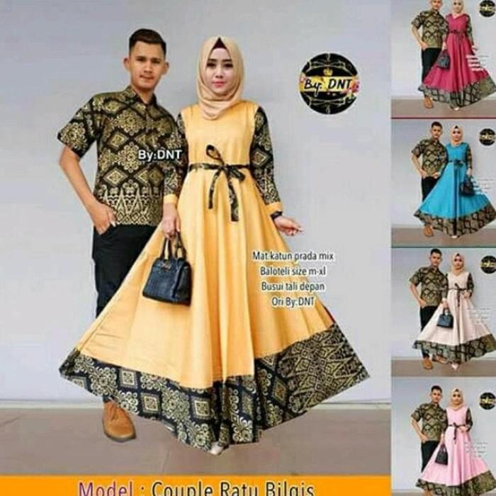 92 Model Baju Batik Hijab Kekinian HD