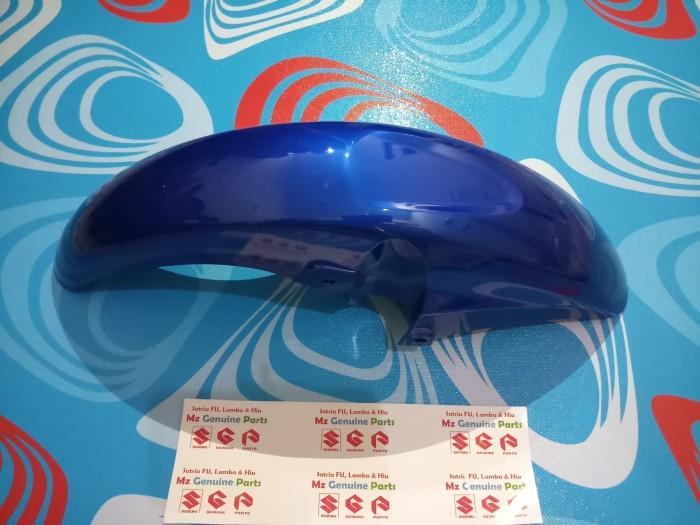 harga Spakbor depan-front fender biru suzuki satria fu 2004-2006 sgp thai Tokopedia.com