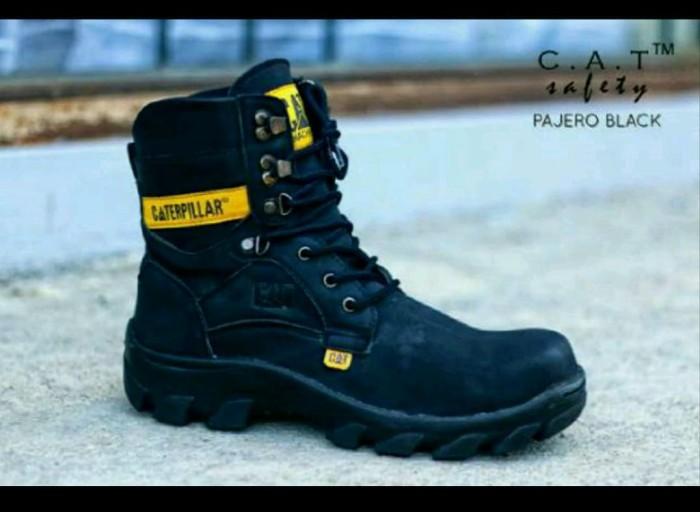 Jual sepatu boots pria caterpillar pajero hitam safety - Anvan ... e90e4cd415