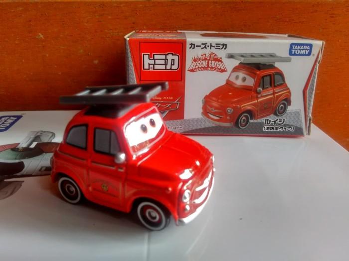 harga Tomica disney pixar cars luigi fiat rescue go go! diecast miniatur ori Tokopedia.com