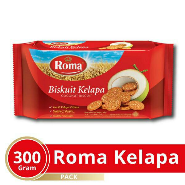 Foto Produk biskuit roma kelapa 300 gr dari yosim