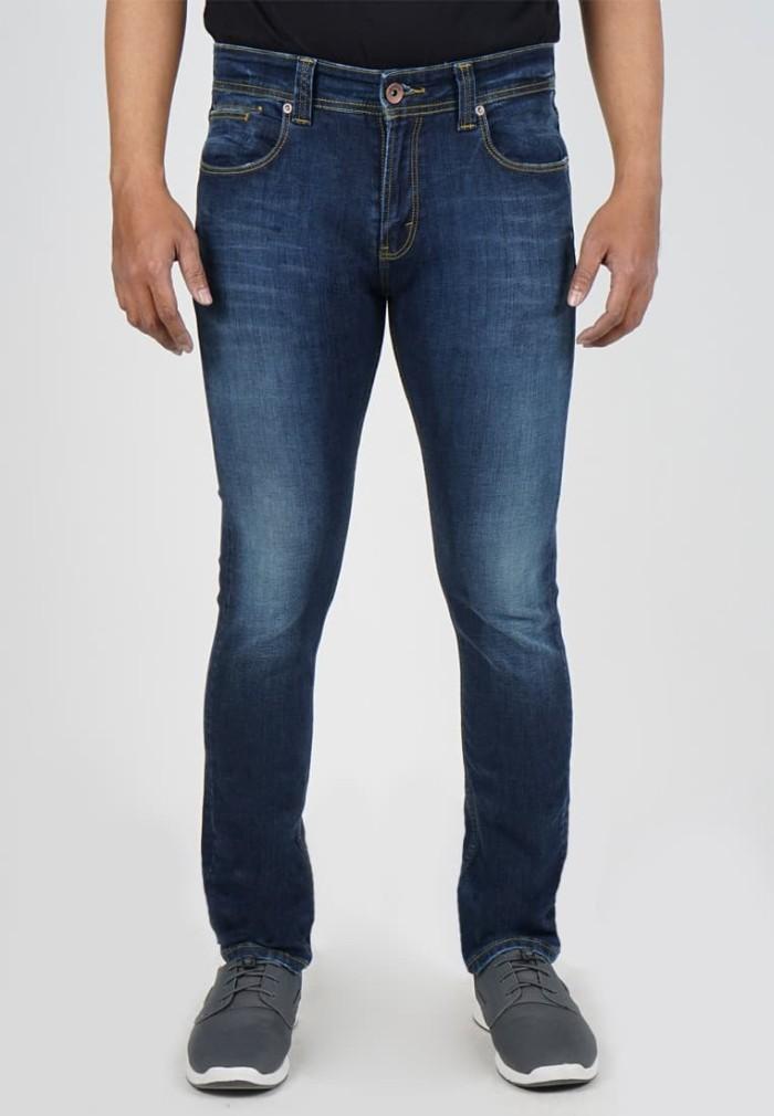Lois jeans original - celana panjang pria skinny ssk333d - biru 30