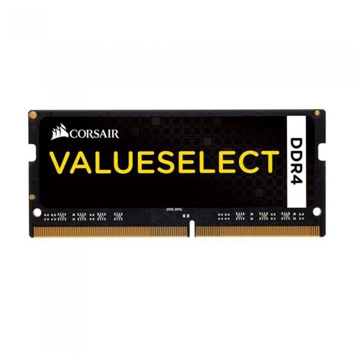Foto Produk Corsair Memory 8GB (1x8GB) DDR4 SODIMM 2133MHz C15 CMSO8GX4M1A2133C15 dari Corsair Official Store