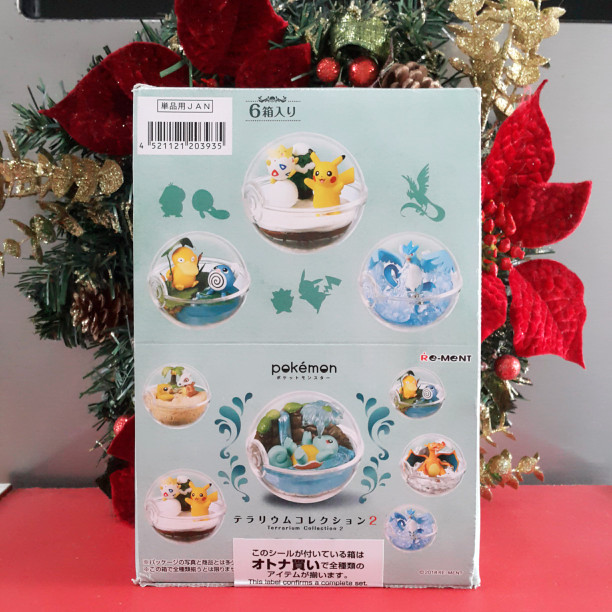 harga Re-ment miniature pokemon - terrarium collection vol.2 Tokopedia.com