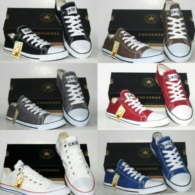 Jual Sepatu Converse All Star Murah Dengan Box  ab90cf10c5