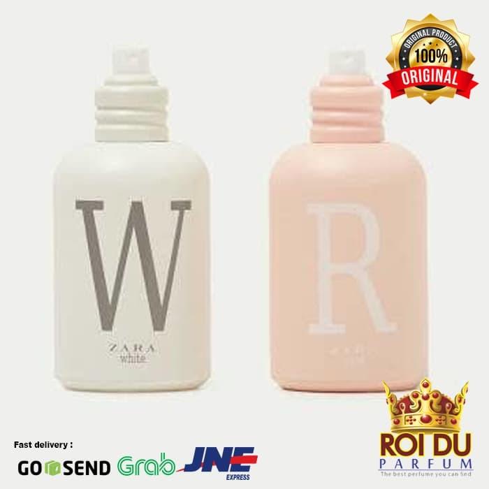 Jual Original Parfum Zara White And Rose Isi 2pcs Roi Du Parfum