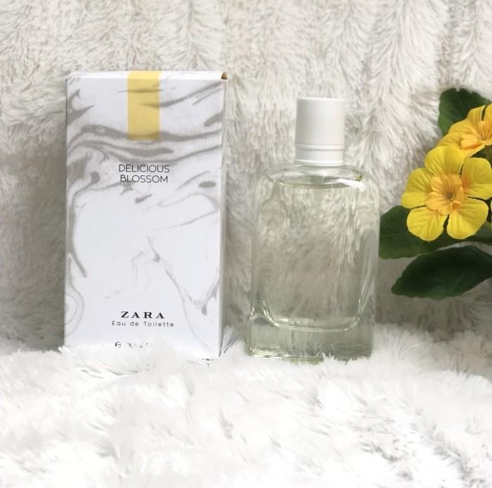Jual Terlaris Parfum Original Zara Delicious Blossom Limited Edition