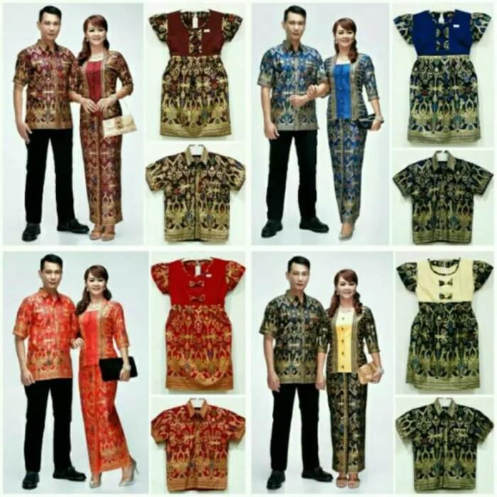 Info Baju Couple Batik Family 1 Anak Hargano.com