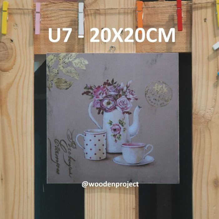 harga Walldecor vintage teacup flower u7 Tokopedia.com