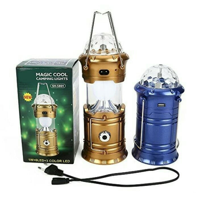 Jual Lampu Camping Lights 5801 Magic Cool Jakarta Utara Laviola Tokopedia