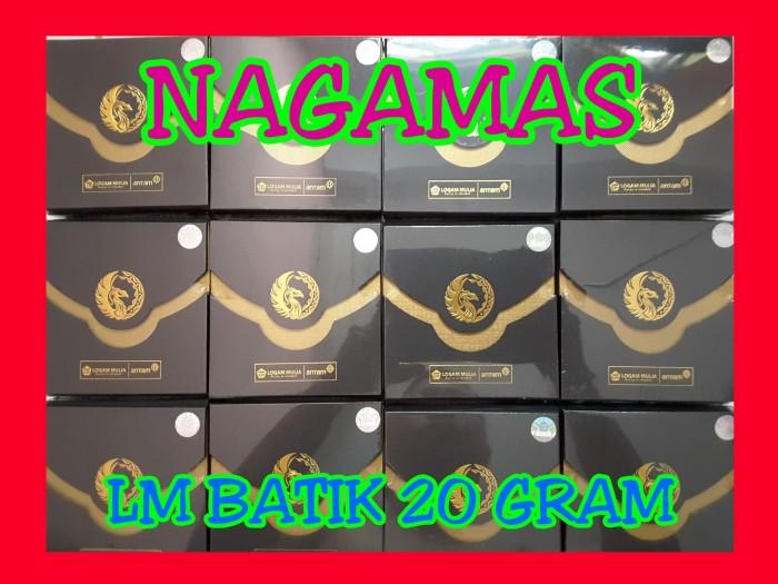 Jual Lm Antam Seri Batik 20 Gram Logam Mulia Batik Emas Batangan