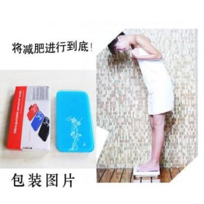 harga Timbangan berat badan mini digital 180kg - taffware sc-03 Tokopedia.com