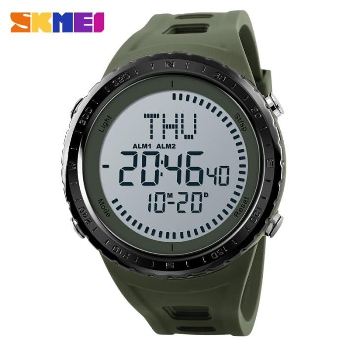 Skmei compass 1342 original - jam tangan pria outdoor anti air - army