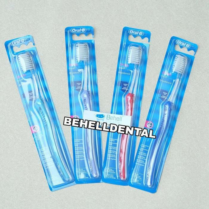 Jual Sikat Behel Oral B Ortho   Khusus Untuk Pengguna Behel - BEHELL ... 7520c02367