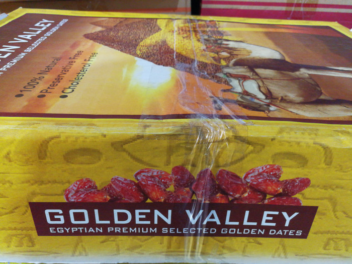 CTN10kg - KURMA GOLDEN VALLEY 10KG / EGYPTIAN DATES MANIS EMPUK ENAK .