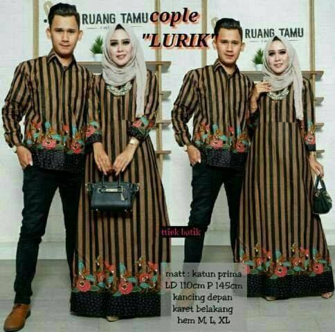 Couple Batik Lurik