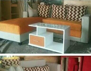 Jual Meja Ruang Tamu Minimalis Sesuai Warna Dinding Sofa Rak Pajangan Murah Kab Sleman Anggunbatiks Tokopedia