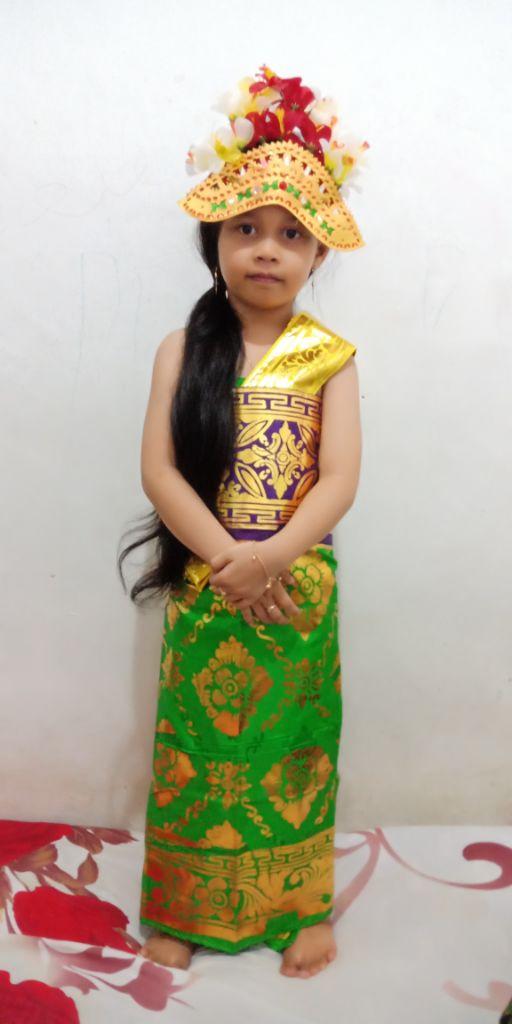43 Contoh Baju Adat Bali Untuk Anak2 Kekinian