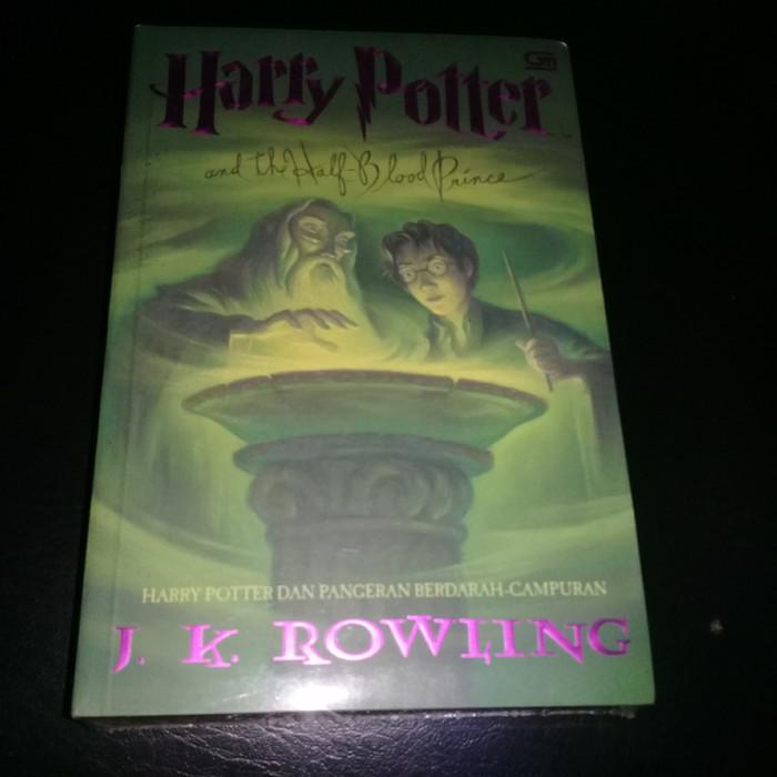 harga Novel baru harry potter ke 6 Tokopedia.com