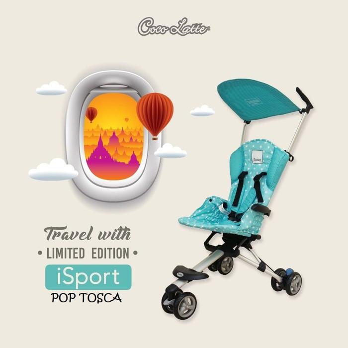 harga New stroller cocolatte isport (tosca) Tokopedia.com