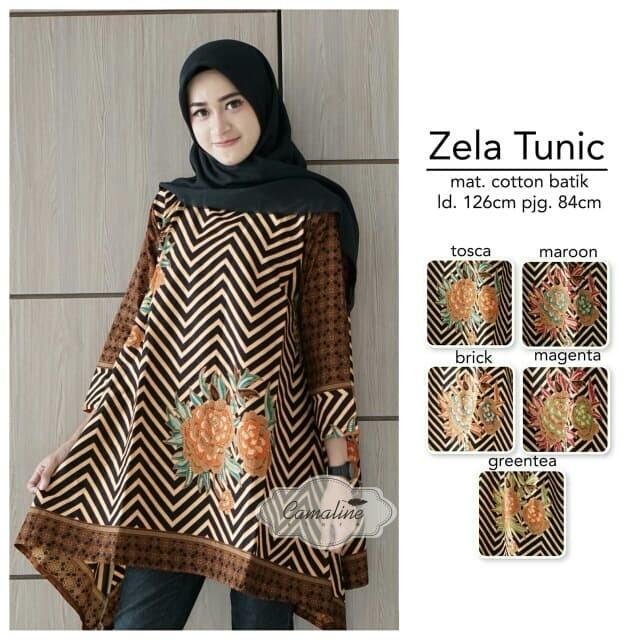 Jual Grosir Eceran Murah Baju Atasan Tunik Batik Zela - Galery PH ... a334d02273