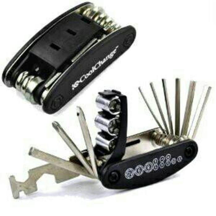 harga Alat servis sepeda toolkit 14 in 1 ada kunci l sok  pas dan obeng Tokopedia.com