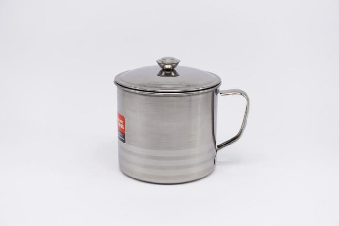Foto Produk Gelas | Cangkir Stenlis | Mug Stainless 12 cm dari Sumber Anugrah Surabaya