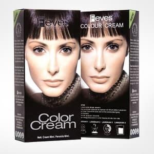 Pewarna rambut feves hair color cream (semir rambut) murah best seller