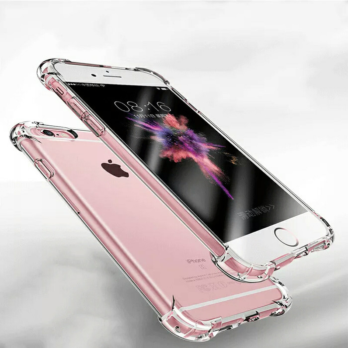 iPhone 6 6s Plus 6+ 6s+ | Soft Case Anti Crack / Shock Clear Softcase