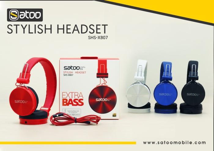 harga Headset satoo xb-07 stylish headset Tokopedia.com