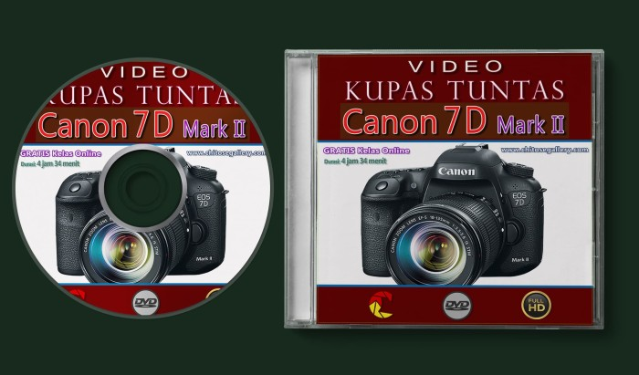 Jual Video Kupas Tuntas Kamera CANON 7D Mark II - Kota Denpasar - Chitose  Gallery | Tokopedia