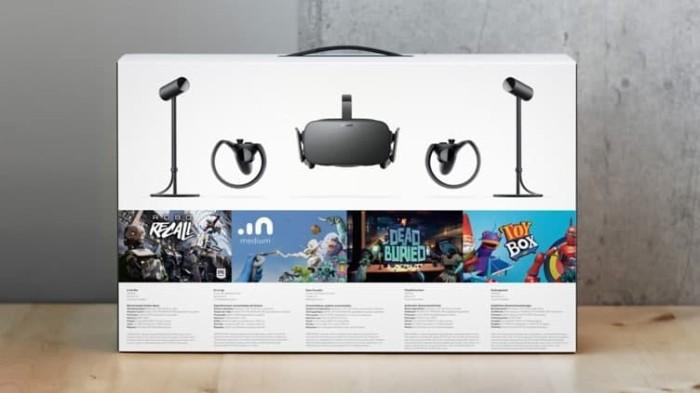 harga Oculus rift + touch virtual reality system Tokopedia.com