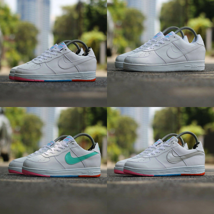harga Nike airmax rainbow size 36 - 40 sepatu wanita olahraga sports putih Tokopedia.com